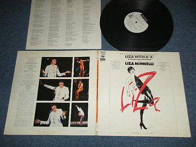 "LIZA MINNELLI Japan 1972 White Label Promo LP ion LIZA WITH A ""Z"" Television"