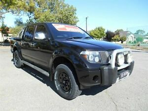 2007 Nissan Navara D40 ST-X (4x4) Black 6 Speed Manual Dual Cab Pick-up Nailsworth Prospect Area Preview