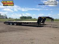 "BIG TEX 22GN-25+5 (102""x 25'+5') TDM GOOSENECK WITH MEGA-RAMPS"
