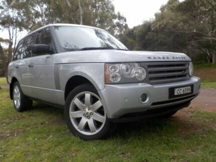 2008 Land Rover Range Rover MY08 Vogue TDV8 Silver 6 Speed Auto Sequential Wagon