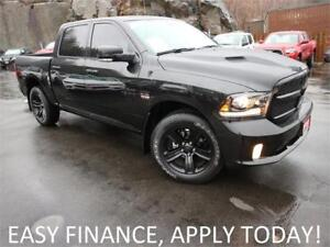2018 Ram 1500 Night 4X4! 5.7L! CREW! HEATED/COOLED LEATHER!