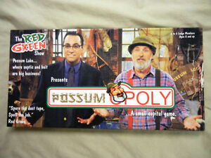 New RED GREEN TV SHOW 2005 MONOPOLY GAME POSSUM-OPOLY