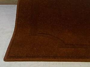 Quality rust colour woollen floor rugs 100x160cm Nambour Maroochydore Area Preview