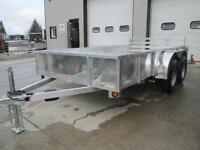 Ultimate all aluminum 12' utility/open deck trailer no more rust