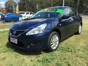 2015 Nissan Pulsar C12 Series 2 ST Blue Continuous Variable Hatchback Clontarf Redcliffe Area Preview