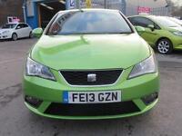 2013 13 SEAT IBIZA 1.4 TOCA 3D 85 BHP