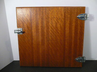 VINTAGE CLASSIC NAUTICAL BOAT CAMPER WOODEN CABIN DOOR with hardware