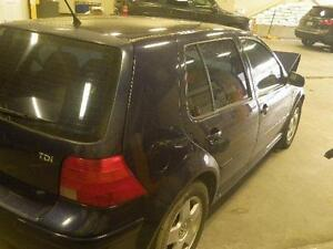 VW 2003 Golf 4dr. TDI 5 speed (PARTS ONLY)
