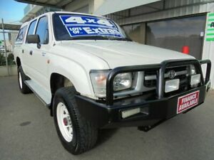 1999 Toyota Hilux LN167R White 5 Speed Manual Utility Edwardstown Marion Area Preview