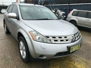 2005 Nissan Murano Z50 ST Gold Continuous Variable Wagon