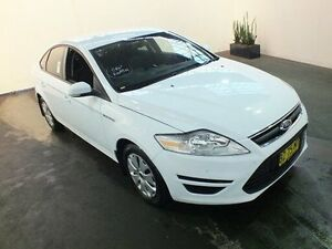 2010 Ford Mondeo MC LX Tdci Winter White 6 Speed Direct Shift Hatchback Clemton Park Canterbury Area Preview