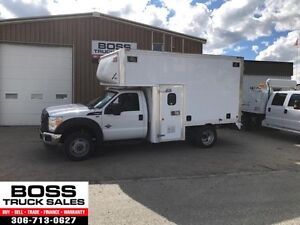 2012 Ford Super Duty F550 DRW XL Service Van Low Kms! DSL!