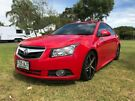 2010 Holden Cruze JG CD Red 6 Speed Sports Automatic Sedan Somerton Park Holdfast Bay image 2