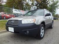 2007 SUBARU FORESTER 2.5X ALL WHEEL DRIVE WAGON**NO ACCIDENTS**