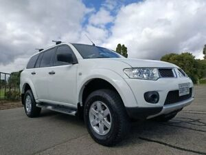 2011 Mitsubishi Challenger PB (KG) MY12 White 5 Speed Sports Automatic Wagon Enfield Port Adelaide Area Preview