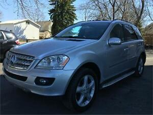 2008 MERCEDES ML550 4MATIC + V8 + NAVIGATION + GARANTIE UN AN