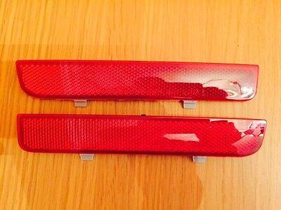 REAR PAIR BUMPER REFLECTORS RANGE ROVER VOGUE L322 FREELANDER 2 LED 2002-2012