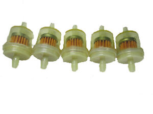 Scooter Fuel Filter 5 Pack Chinese Scooter Fuel Filter GY6 50cc 150cc 139QMB