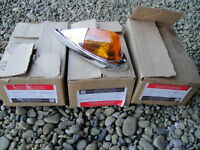 Four NOS GM Roof Marker Lights for GMC Chevrolet Trucks