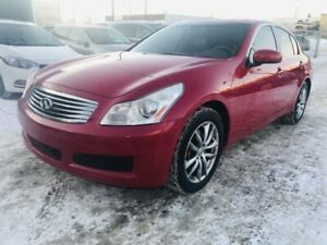 2007 INFINITI G35x Sedan AWD, Clean Carproof, Push Start, 6 Mnth