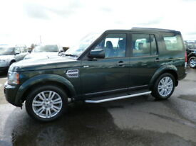 Land Rover Discovery 4 SDV6 XS (green) 2011-09-30