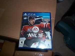 NHL 18 New Sealed Playstation 4 PS4
