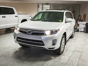 2012 Toyota Highlander Hybrid 3M Hood, Remote Starter, Leather,
