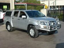 2013 Isuzu D-MAX TF MY12 LS-M HI-Ride (4x4) Silver 5 Speed Automatic Crewcab Strathpine Pine Rivers Area Preview