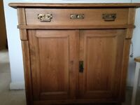 Beautiful old pine chest of drawers