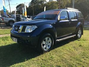 2005 Nissan Pathfinder R51 TI (4x4) Blue 5 Speed Automatic Wagon Clontarf Redcliffe Area Preview