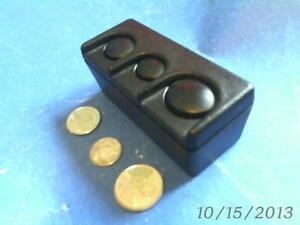FORD TRUCK COIN HOLDER in a TRUCK BED BOX SHAPE