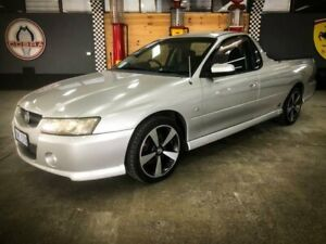 2007 Holden Commodore VZ SVZ Silver 5 Speed Automatic Utility Fyshwick South Canberra Preview