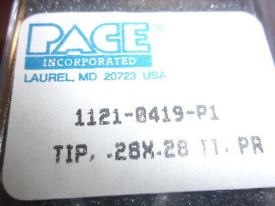 Pace Desoldering Chip Component Removal Tip 1121-0419-p1 Genuine .28x.28 Tt Pr