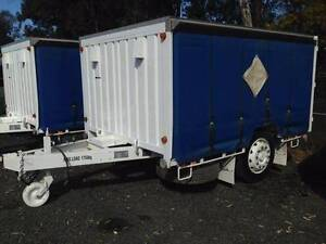 2000 Haulmark Pig Trailer-Single axle trailer,Tautliner. Ex Govt Inverell Inverell Area Preview