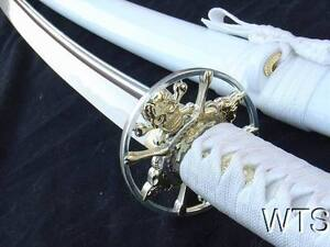 Razor-Sharp-Hand-Forged-Japanese-Sword-Skull-Katana-Sword-Full-Tang