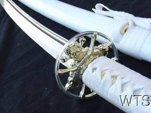 Razor-Sharp-Hand-Forged-Japanese-Sword-Skull-Katana-Sword-Full-Tang