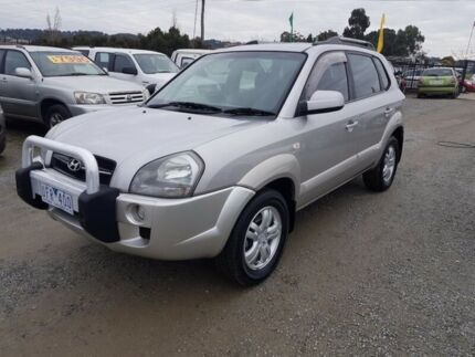 2006 Hyundai Tucson MY06 Upgrade Elite 4 Speed Auto Selectronic Wagon Officer Cardinia Area Preview