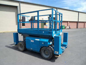 scissor lifts and trailer for rent - indoor and outdoor