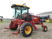 2010 New Holland H8060 with Honey Bee HB36 Header