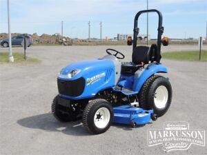 """Boomer 24 Compact Tractor & 60"""" Mower - Get a FREE Snow Blower!"""