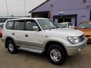 2002 Toyota Landcruiser Prado VZJ95R Grande White 4 Speed Automatic Wagon North St Marys Penrith Area Preview