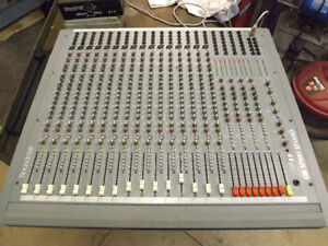 Soundcraft Spirit Studio Mixing Desk