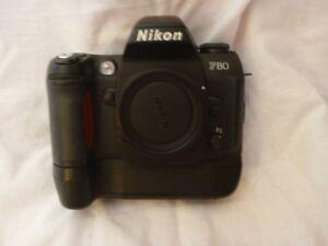 Nikon F80 film camera with Nikon motor drive Parkinson Brisbane South West Preview