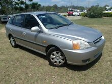 2003 Kia Rio BC Silver 5 Speed Manual Hatchback Wacol Brisbane South West Preview