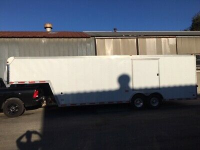 Pace Shadow 32 14000gvw Enclosed Gooseneck Cargo Trailer Car Race Auto Hauler