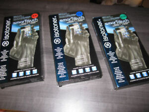 Gloves, Leather, ISOTONER SmarTouch, ISOTONER Leather, BNIB