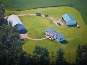 80 Acres with Home, Shop & Quonset - East of Sherwood Park