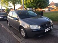 2005 VW GOLF 1.9tdi Grey 1 PERIVOUS OWNER SINCE NEW CAM BELT CHANGED