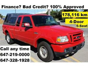 2007 Ford Ranger XL Auto 4-Door FINANCE 100% APPROVED WARRANTY