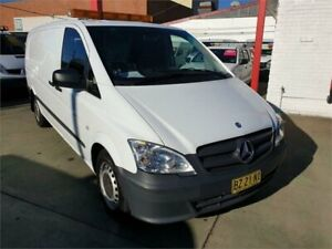 2014 Mercedes-Benz Vito MY14 116CDI LWB White 5 Speed Automatic Van Granville Parramatta Area Preview